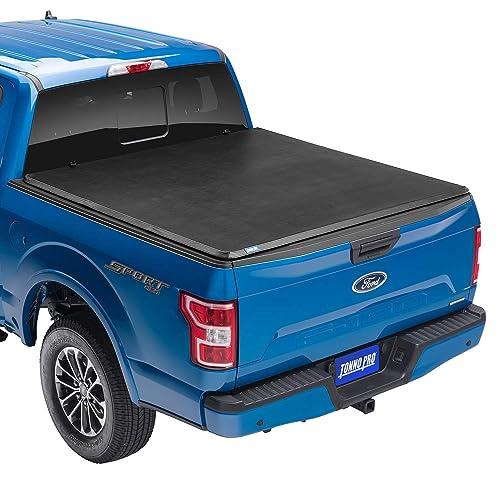 "Tonno Pro Tonno Fold, Soft Folding Truck Bed Tonneau Cover | 42-200 | Fits 2009-18, 19/20 Classic Dodge Ram 1500/2500/3500 6'4"" Bed"