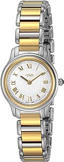 [フェンディ]FENDI 腕時計 クラシコラウンド ホワイト文字盤 F251124000 レディース 【並行輸入品】