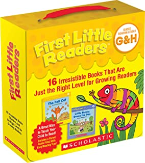 First Little Readers: Guided Reading Levels G & H (Parent Pack): 16 Irresistible Books That Are Just the Right Level for G...