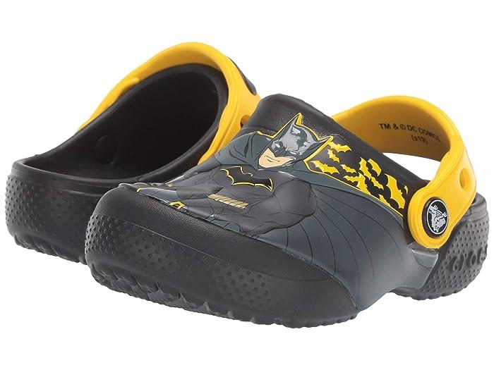 Crocs Kids CrocsFunLab Iconic Batman Clog (Toddler/Little Kid)