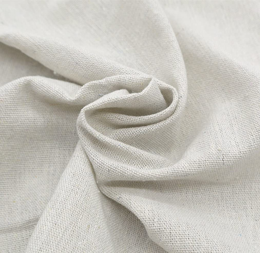 iNee Natural Linen Fabric for Needle Embroidery, Embroidery Fabric Linen 20