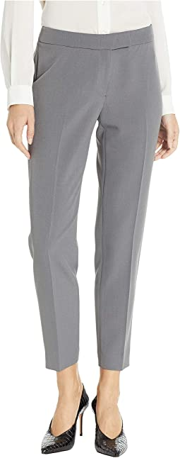 Extended Tab Crepe Pants