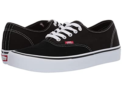Vans Authentictm Pro (Black/True White) Skate Shoes