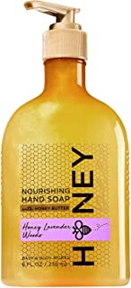 Bath and Body Works Honey Bee Lavender Woods Nourishing Hand Soap with Honey Butter 8 Ounce Full Size