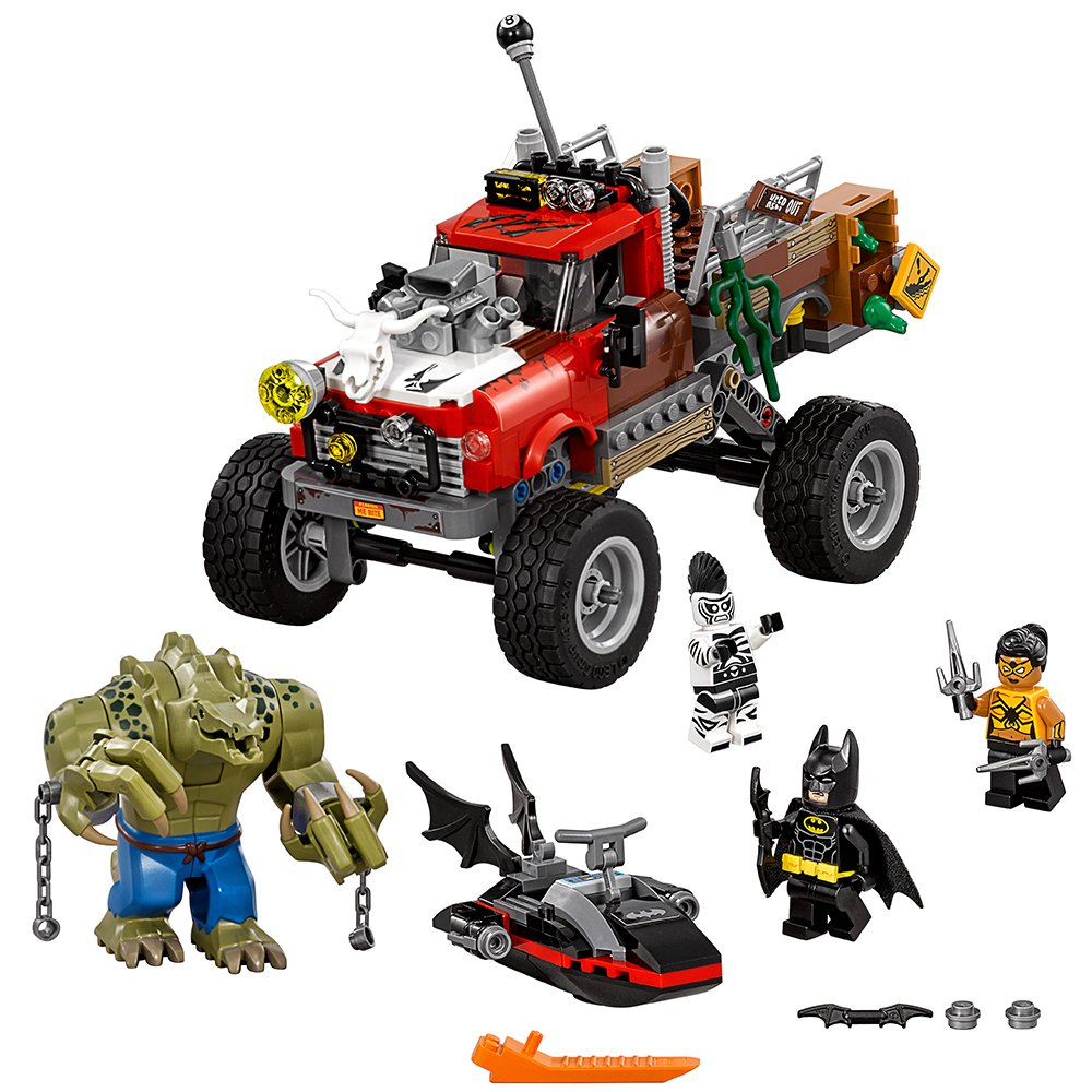NEW LEGO DC Super Heroes Minifig Zebra-Man 70907