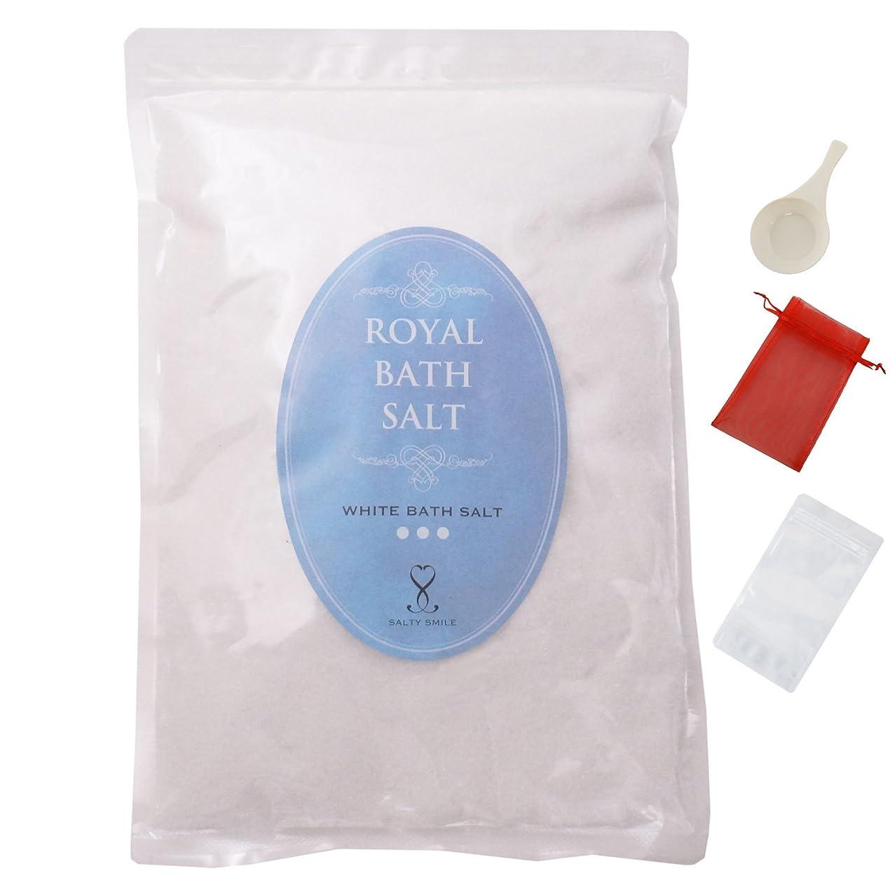 識字クラッシュ深さロイヤル バスソルト ヒマラヤ岩塩 クリスタル ホワイト パウダー 細粒 ROYAL BATH SALT (1,000g【1㎏】)