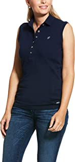 Colore: Blu Navy a Maniche Corte Polo da Donna Prix 2.0 ARIAT