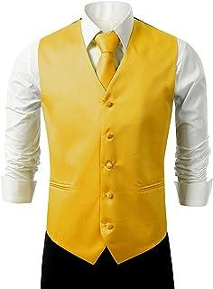 Suit Me Uomo Panciotti Matrimonio vestiti della maglia 3 pezzi con cravatta fazzoletto