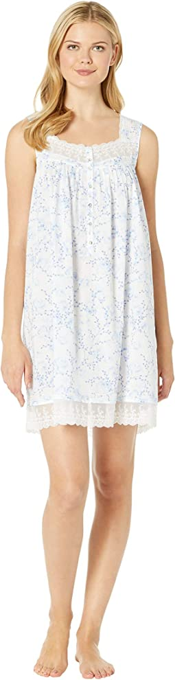 Cotton Woven Lawn Short Chemise