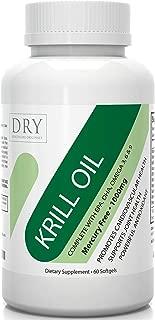 #1 Premium Krill Oil 1000mg - Pure EPA DHA Supplement - Omega 3 6 9 & Astaxanthin Antioxidant - Boost Heart Health, Joint Care, Regulate Blood Pressure & Wellbeing - Lifetime Guarantee