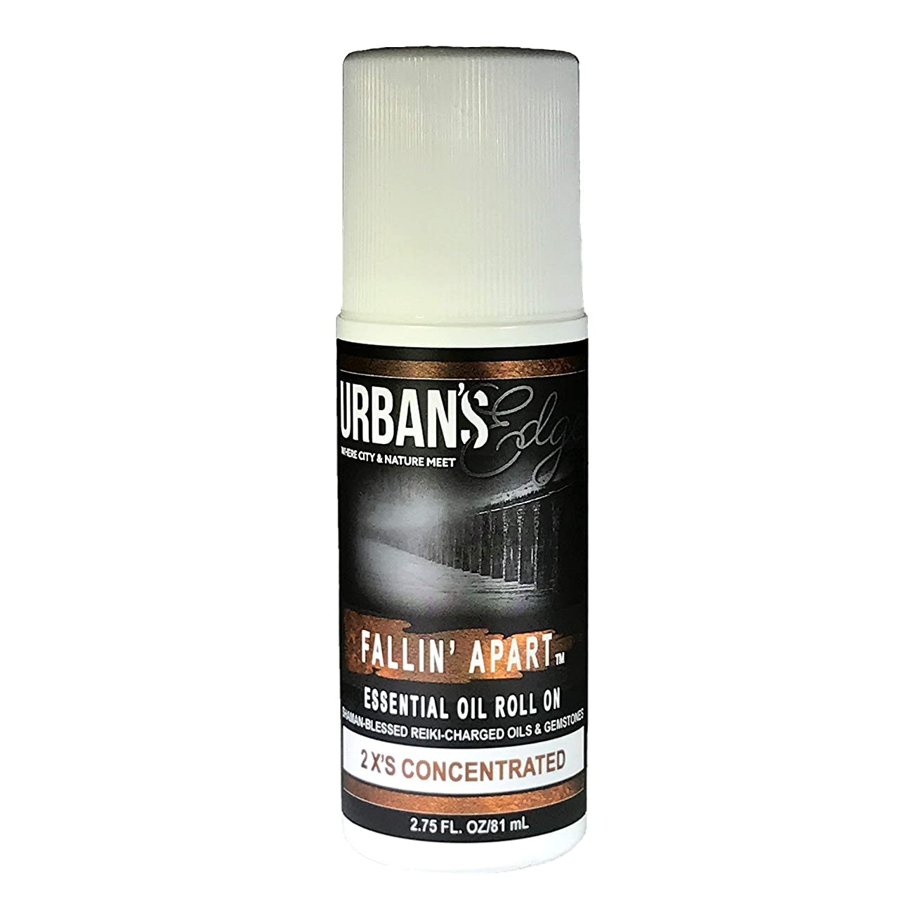 Fallin' Apart Essential Oil Roll-On (Natural) Topical Formula Delivers Cool and Warming Comfort for Joints & Muscles