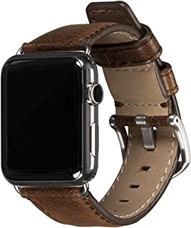 Sena Cases Heritage Leather Watch Band for Apple Watch 42mm - Heritage Cognac