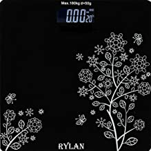 RYLAN .Electronic Thick Tempered Glass & LCD Display Digital Personal Bathroom Health Body Weight Scales For Body Weight, Weight Scale Digital For Human Body, Weight Machine For Body Weight