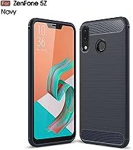 Asus Zenfone 5z ZS620KL Case, SsHhUu Carbon Fiber Design Case Ultra Slim Cover Light Weight Rubber TPU Phone Case for Asus Zenfone 5z ZS620KL 2018 (6.2