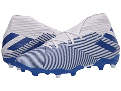 adidas Nemeziz 19.3 FG (Footwear White/Team Royal Blue/Team Royal Blue) Men