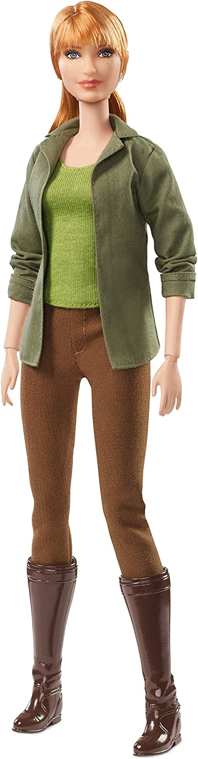 Barbie FJH58 Jurassic World Claire Doll, MultiColour