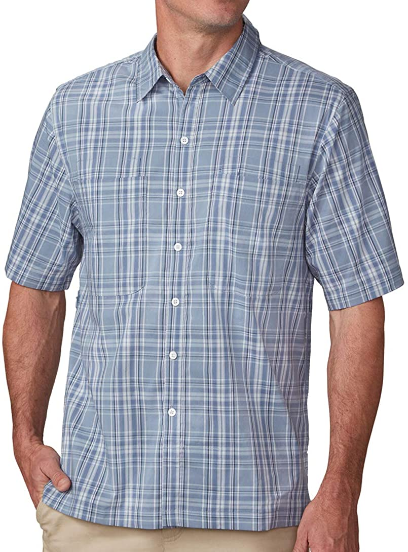 SCOTTeVEST Men's Docksider Travel Shirt Pockets Popular products Low price Secure Ant 7