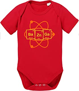 Sambosa Bazinga Big Baby Strampler Bang Bio Sheldon Baumwolle Theory Body Jungen & Mädchen 0-12 Monate