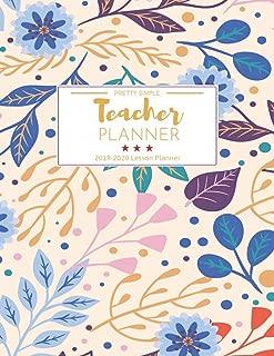 Teacher Planner 2019-2020: Teacher Planner 2019-2020 8 1/2 x 11 (July 2019 through June 2020)