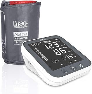 مانیتور فشار خون بالا دکمه بزرگ بازوی بالا - دستگاه فشار خون کاملاً اتوماتیک با نور پس زمینه LED - کیت مانیتور دقیق BP - 2 کاربر ، 99 حافظه ، باتری شامل