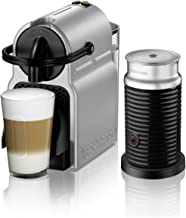 Nespresso by De'Longhi EN80SAE   Original Espresso Machine Bundle with Aeroccino Milk Frother by De'Longhi, Medium, Silver