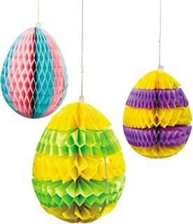 Fun Express Easter Egg Silhouette Hanging Decorations - Easter & Party Decorations