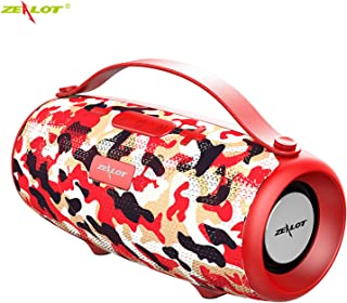 ZEALOT S34 Wireless Bluetooth Speaker Waterproof Loudspeaker Portable Outdoor HiFi TWS Stereo Sound Subwoofer Support TF/U...