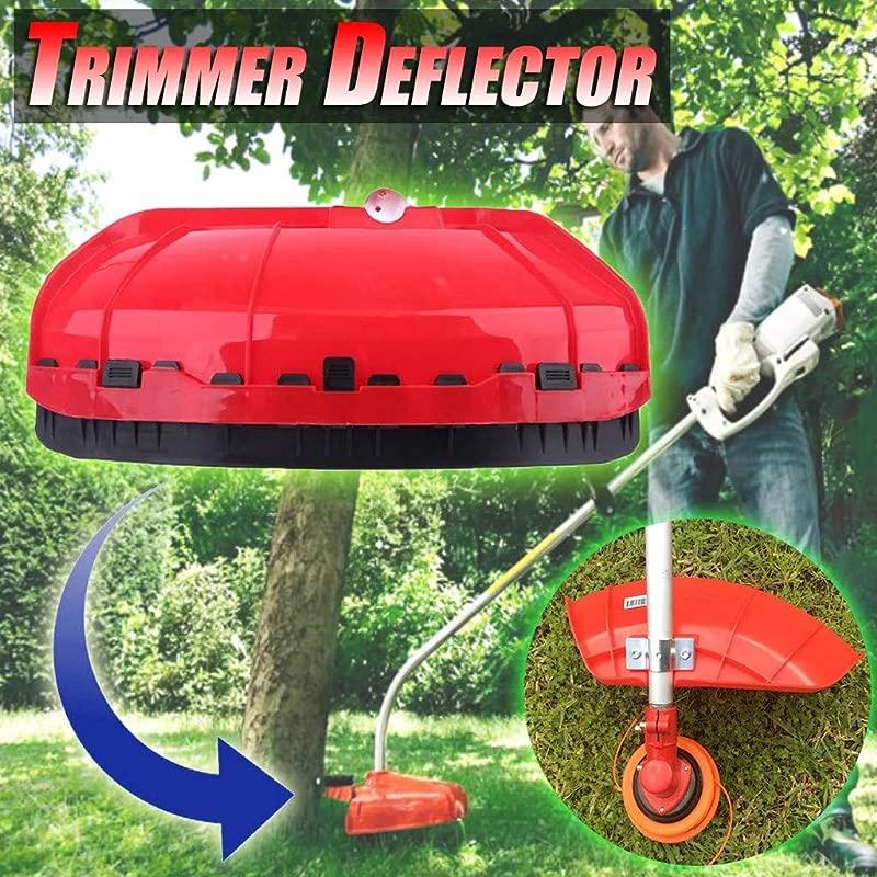 Panzisun Universal Trimmer Deflector Assembly Debris Shield Equipment Plastic Brushcutter Guard Shield For Brush Cutter Whipper Multi Tools