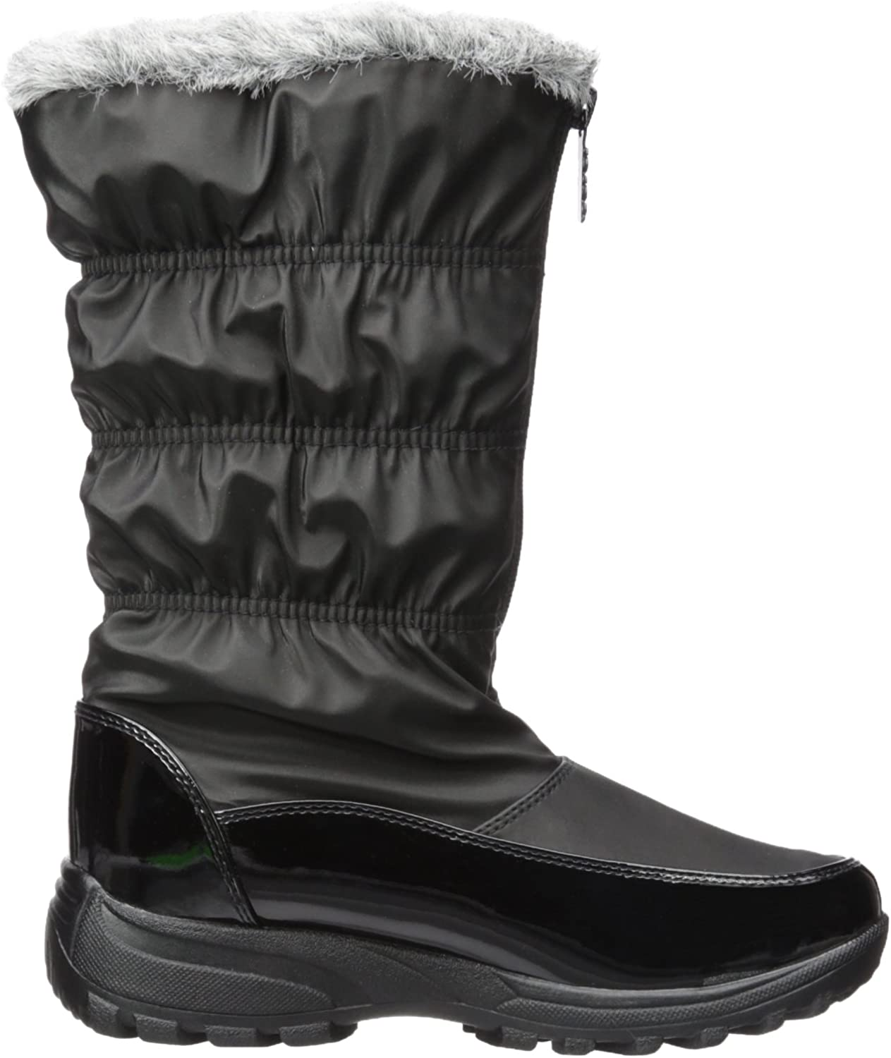 totes Womens Carmela Ruched Snow Boot Available in Wide Width