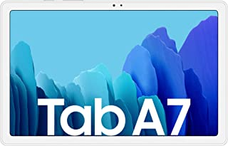 Samsung Galaxy Tab A7, Android Tablet, WiFi, 7.040 mAh Akku, 10,4 Zoll TFT Display, vier Lautsprecher, 32 GB/3 GB RAM, Tablet in Silber