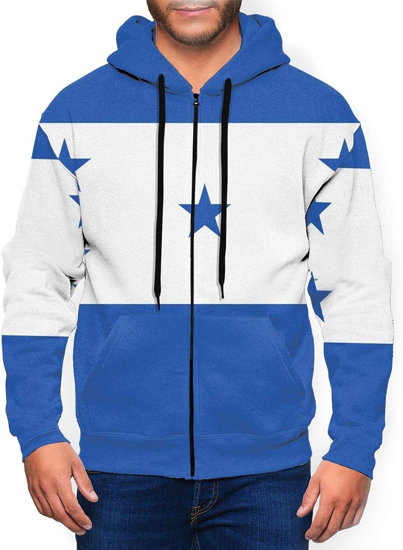 Hello Gorgeous Full-Zip Sweatshirt Hoodie Men Hondur Of Recommended For Cheap SALE Start Flag