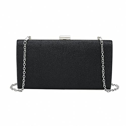 bb4cda3e573c77 Charming Tailor Sparkling Glitter Box Clutch Evening Bag Party Purse Bling  Dress Handbag for Prom &