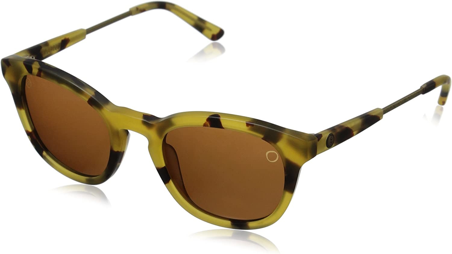 Electric Visual Txoko Matte Spotted Tortoise OHM Bronze Sunglasses