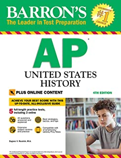 AP United States History: With Online Tests (Barron's Test Prep)