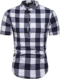 Best black grandad collar t shirt Reviews