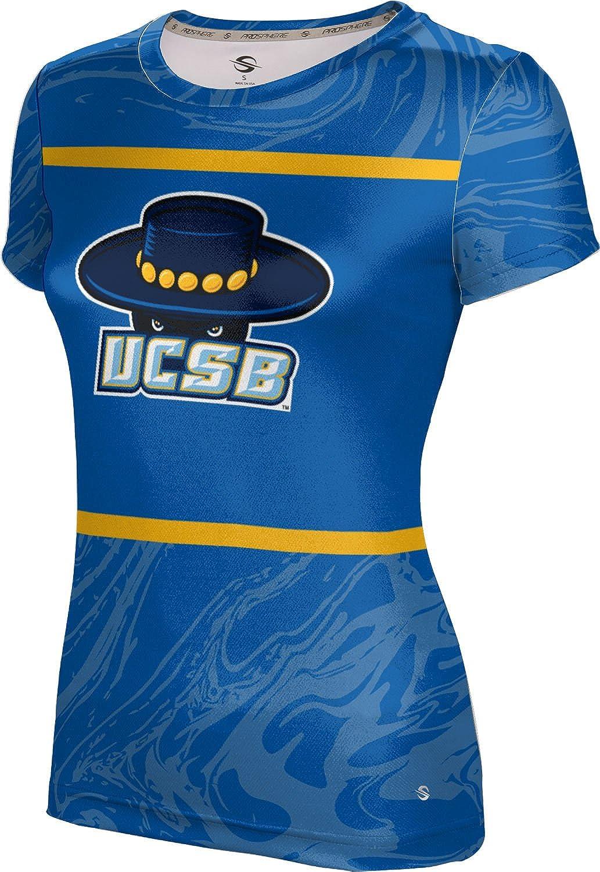 ProSphere University of California Santa Barbara Girls' Performance T-Shirt (Ripple)