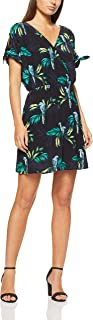 French Connection Women's Paradise Printed Dress, Black/Multi