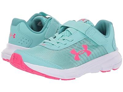 Under Armour Kids UA GPS Rave 2 NP AC (Little Kid) (Mermaid/Penta Pink) Girls Shoes