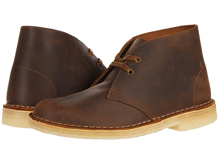 Mens Vintage Shoes, Boots | Retro Shoes & Boots Clarks Desert Boot Beeswax 1 Womens Lace-up Boots $150.00 AT vintagedancer.com