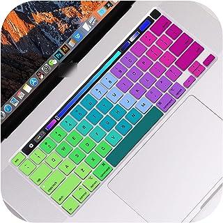 Keyboard cover - Funda teclado para MacBook Pro de 13 pulgadas 2020 modelo A2289 con barra táctil colorida