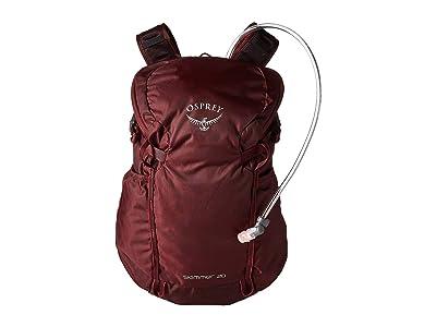 Osprey Skimmer 20 (Plum Red) Backpack Bags