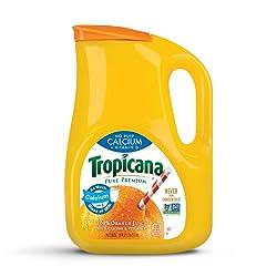 Tropicana, Orange Juice with Calcium + Vitamin D, No Pulp, 89 oz