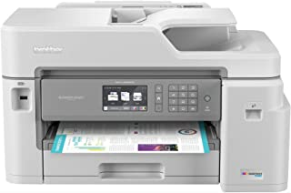 Brother Inkjet Printer, MFC-J5845DW, INKvestment Color Inkjet All-in-One Printer with Wireless, Duplex Printing and Up to ...