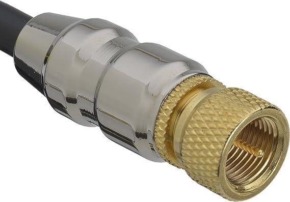 Aricona Antennenkabel 441 1 F Stecker F Stecker 1 Elektronik
