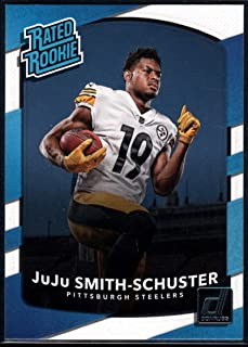 Football NFL 2017 Donruss #326 JuJu Smith-Schuster Rated Rookie Steelers