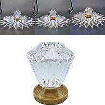 AOSHEN Tabel Lamp-LED Nachtkastje Lamp, Crystal Tabel Lampen, Nacht Licht Creative, RGB Desk Lamp Draagbare Oplaadbare Lam...