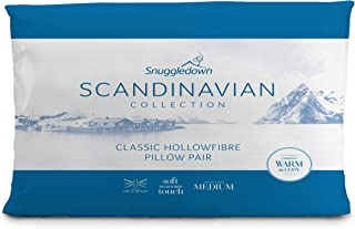 Snuggledown Scandinavian 镂空纤维枕头 白色 12 x 74 x 48 cm 4254SCA01