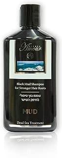 Shemen Amour Dead Sea Natural Treatment, Black Mud Shampoo Stronger Hair Roots