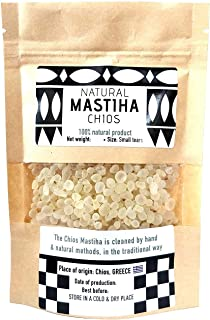 IconsGr Chios Mastiha Tranen Gum Griekse 100% Natuurlijke Mastieke Packs Van Mastieke Kwekers (100gr Kleine Tranen)