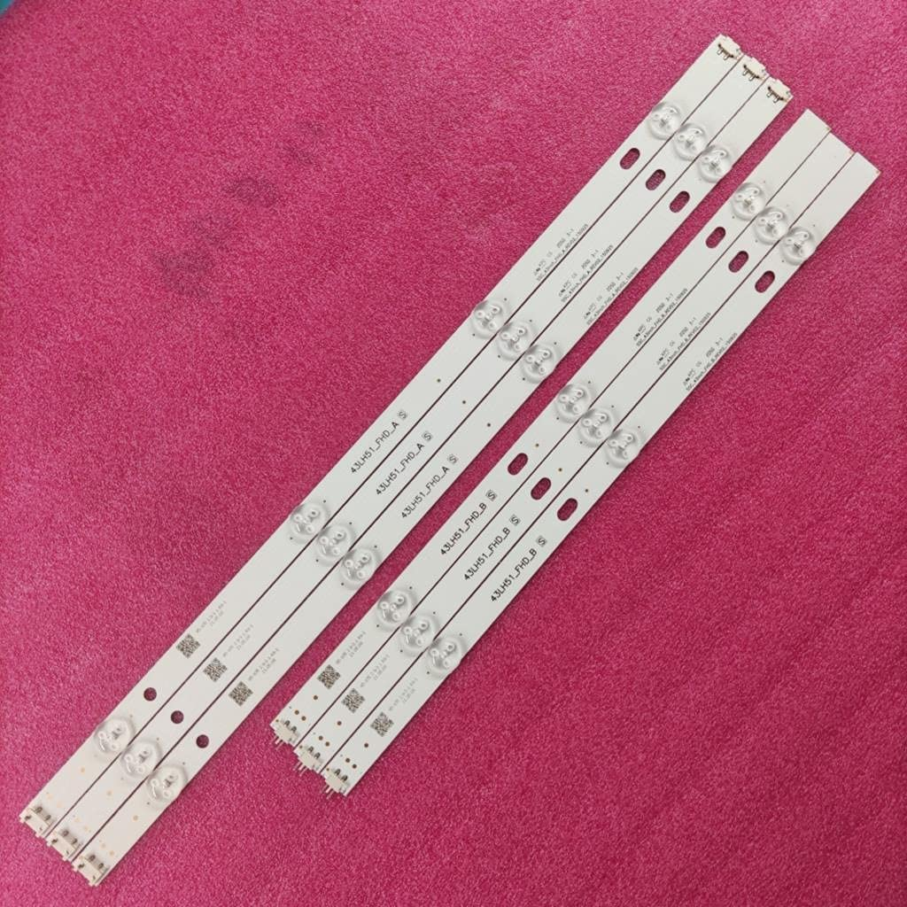 Replacement Part for Easy-to-use TV LED LG43LF510V Strip Backlight famous 43LH5